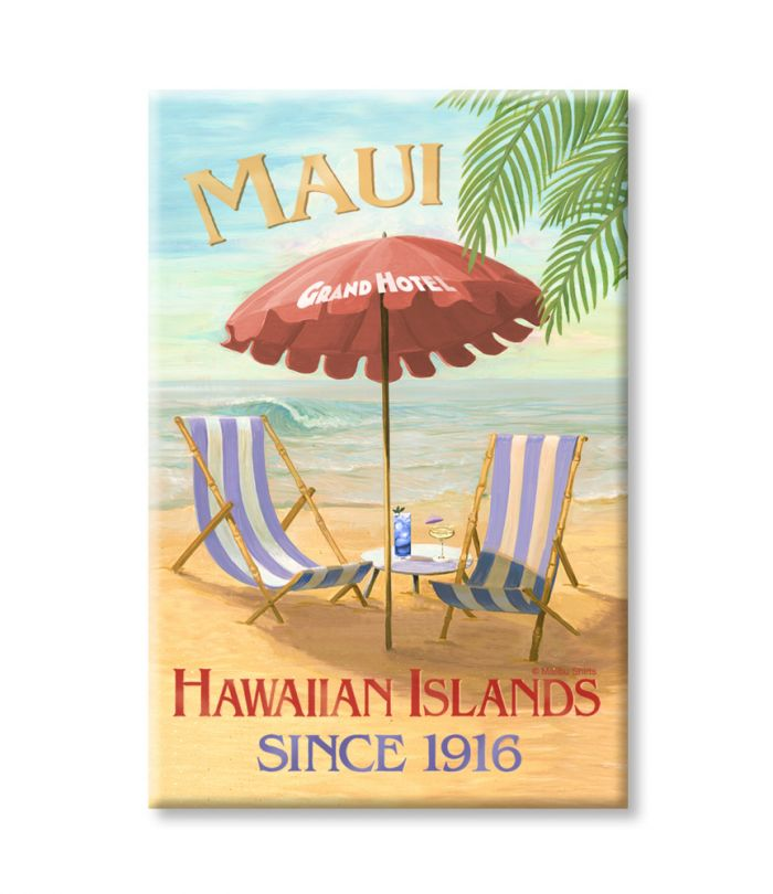 Maui Grand Hotel Magnet