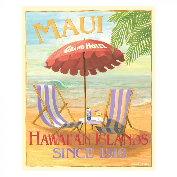 Maui Grand Hotel Sticker