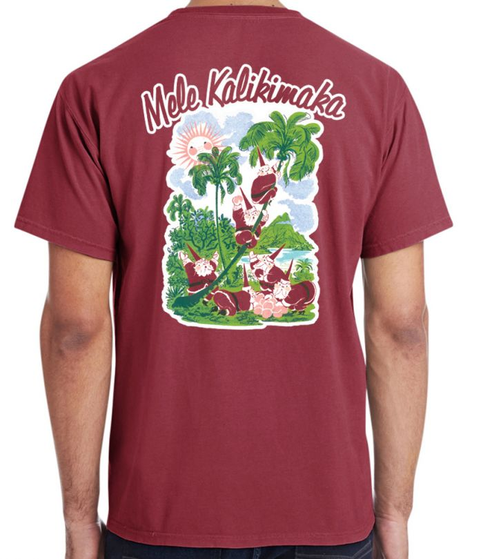 Mele kalikimaka Pocket T-Shirt