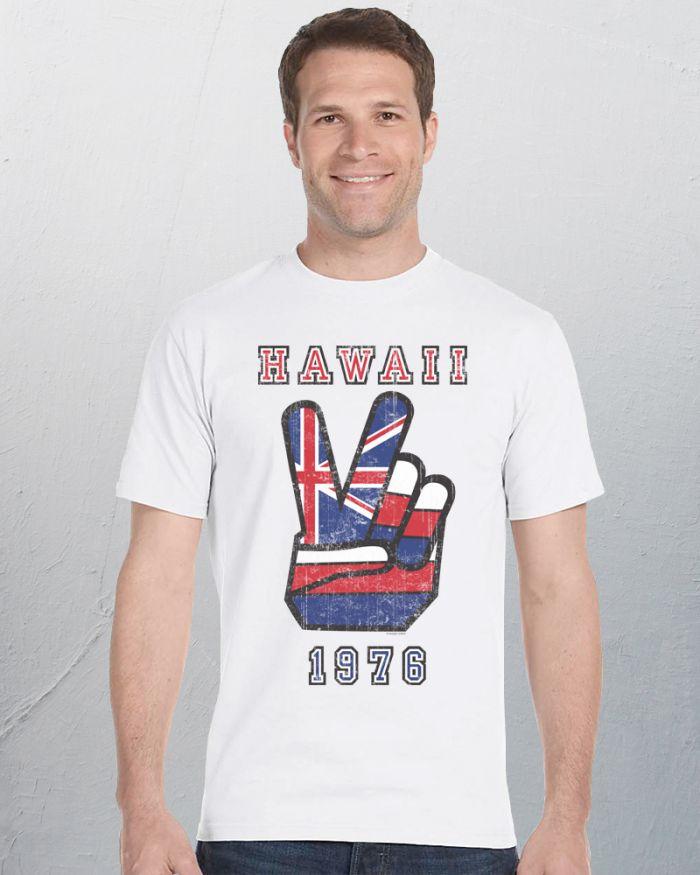 Mens Hawaii Peace T-Shirt