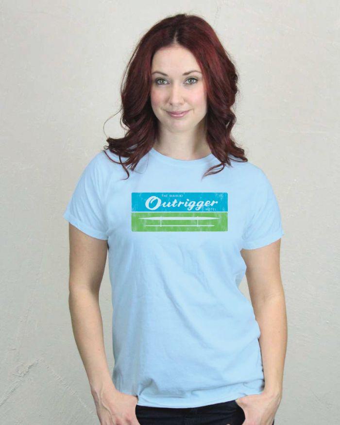 Outrigger Resort Women's T-Shirt
