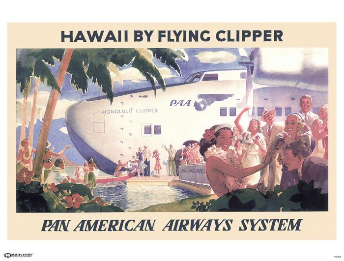 Pan Am Clipper Poster