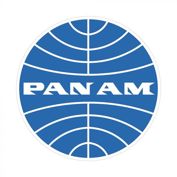 Pan Am Logo Sticker