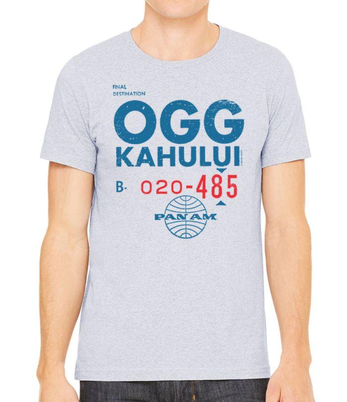 Pan Am OGG Ticket Men's Shirt