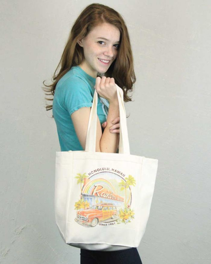 Rainbow Drive-In Tote Bag