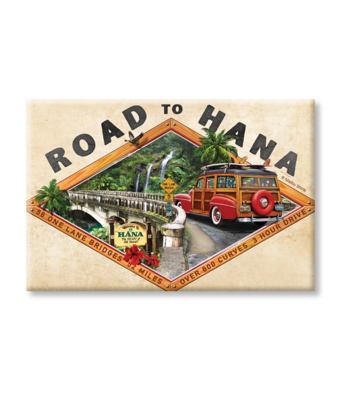 Road to Hana Magnet