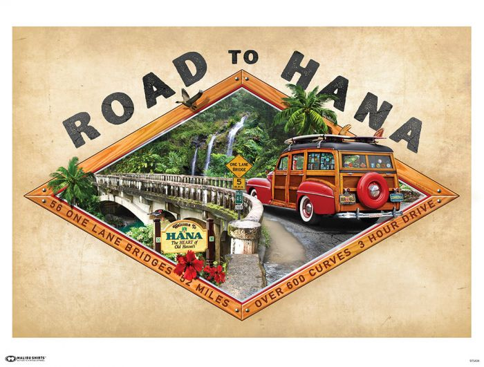 Road to Hana Poster