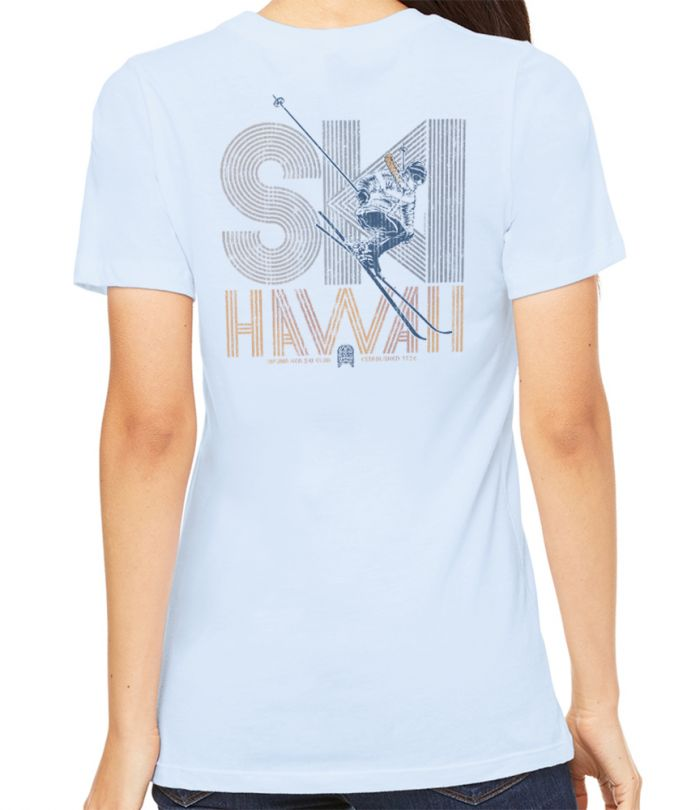 Ski Hawaii 1972 Boyfriend T-Shirt