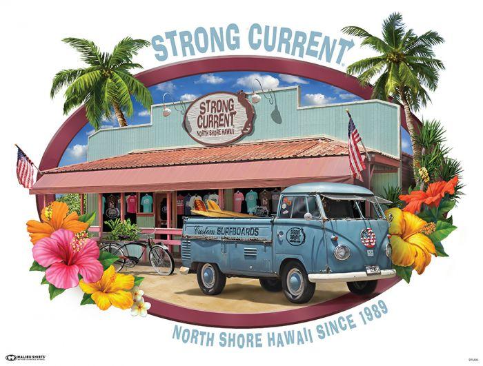 Strong Current Van Poster