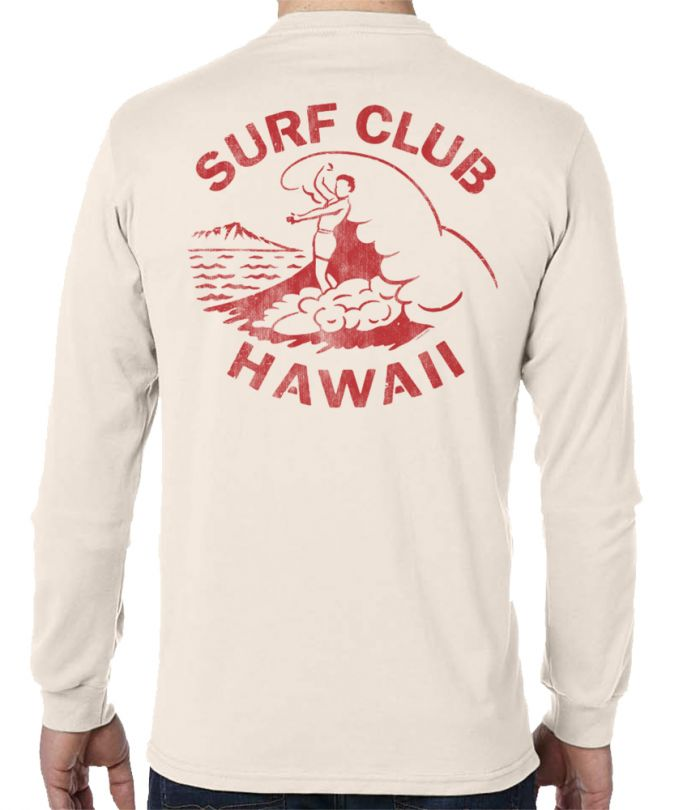 Surf Club Hawaii Men's Long Sleeve