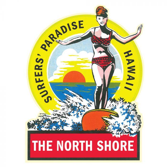Surfer's Paradise Sticker