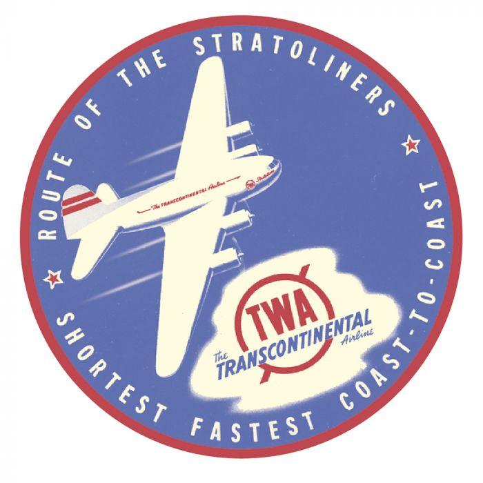 Trans World Airlines Sticker