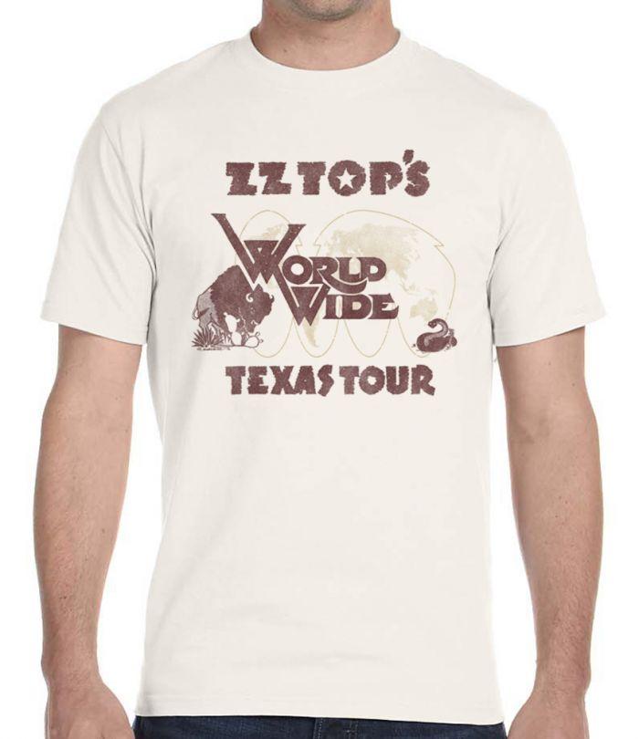 ZZ Top World Wide Texas Tour 1977