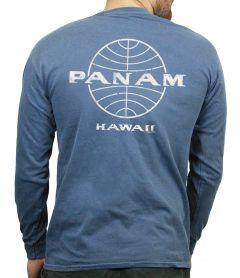 Pan Am Globe Men's Long Sleeve