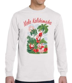 Men's (unisex) Mele Kalikimaka Long Sleeve