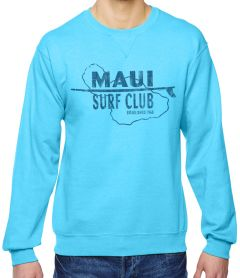 Maui Surf Club Crew Unisex Sweatshirt