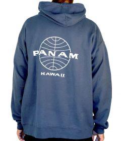 Pan Am Globe Raglan Vintage Pullover Hoodie