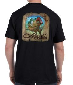 Martin Lure on Wood T-Shirt