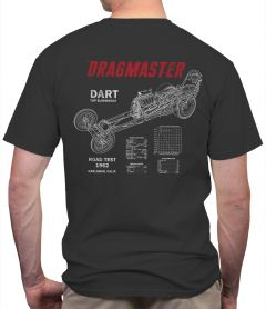 Dragmaster Dart 1962 Road Test T-Shirt