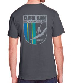 Clark Foam Surfboards Drop In Crest T-Shirt