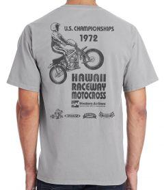 Steen Hawaii Raceway Motocross 1972 T-Shirt