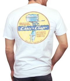 Chris Craft Motor Men's T-Shirt