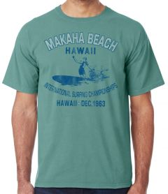 Makaha Beach Hawaii 1963 T-Shirt