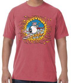 Rick Griffin Surfing Eyeball Men's T-Shirt