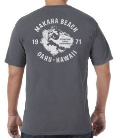 Makaha Beach 1971 Surfing Championships Men's T-Shirt