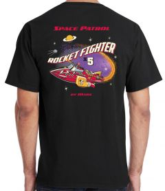 Marx X5 Rocket Fighter Retro T-Shirt