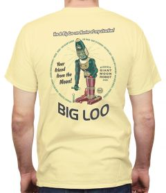 """Big Loo"" Your Friend from the Moon Retro T-shirt"