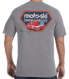 Moto Ski 1968 Zephyr T-Shirt