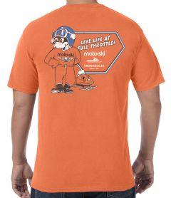 Moto Ski Full Throttle T-Shirt