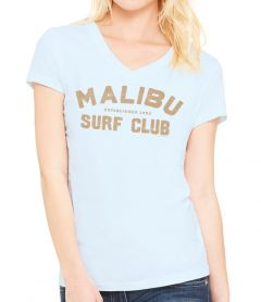 Malibu Surf Club 52  V-Neck T-Shirt