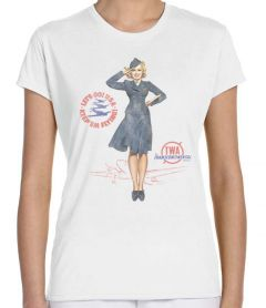 TWA Retro Pin-Up T-Shirt