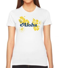 Retro Fly Aloha Women's T-Shirt