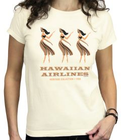 Hawaiian Airlines Hula Girls Heritage T-Shirt