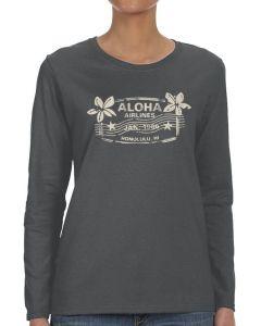 Aloha Air Travel Stamp T-Shirt
