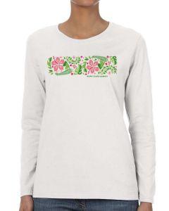 Surf Club Hawaii Retro Floral T-Shirt