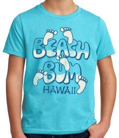 70's Beach Bum Hawaii Youth T-Shirt