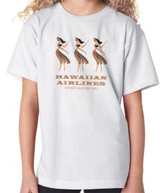 Hawaiian Airlines Hula Youth T-Shirt