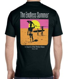 The Endless Summer Black T-Shirt