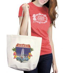 Hawaiii HWY 1 Van Tote Bag