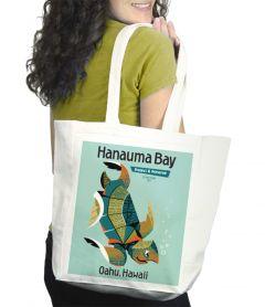 Hanauma Bay Tote Bag