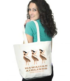 Hawaiian Airlines Heritage Hula Girls Tote