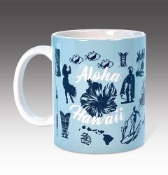 Hawaiian Icons Mug