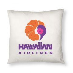 Hawaiian Airlines Heritage Logo Pillow Case