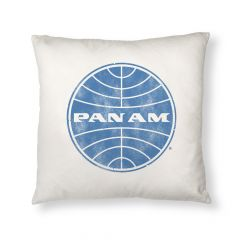 Pan Am Globe Logo Pillow Case