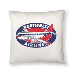Northwest Stratocruiser Throw Pillow Cover