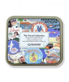 Travel Sticker Tin